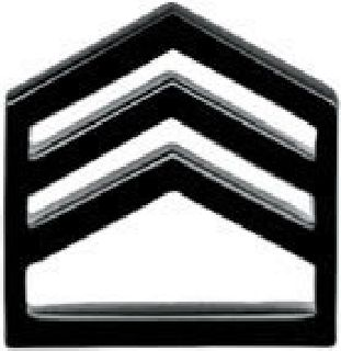 Pairs - Staff Sgt - Subdued/Black
