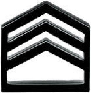Pairs - Staff Sgt - Subdued/Black-Hero's Pride