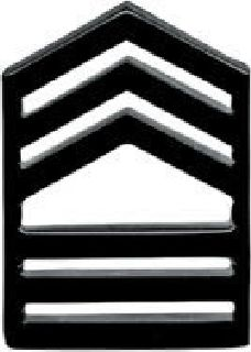 Pairs - Master Sgt - Subdued/Black-