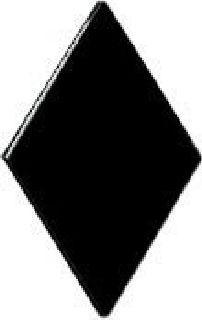 Pairs - Major (Single Diamond) - Subdued/Black-