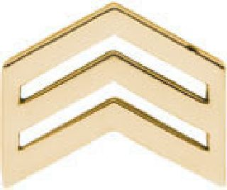 Pairs - Sergeant - Dress/Gold-Hero's Pride