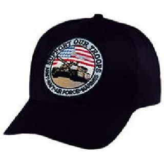 Support Our Troops - Ball Cap-Hero's Pride