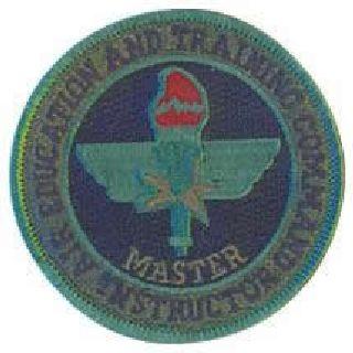 "Aetc Master Instructor - Subd - No Hook -3"" Circle-"