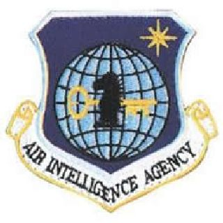 "Air Intelligence Agency-Full Color- w/Hook - 3x3""-"