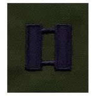 Pairs - Cloth Rank Insignia - Subdued - Captain-Hero's Pride