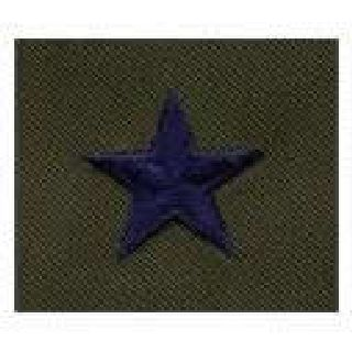 Pairs - Cloth Rank Insignia - Subdued - Brig General-