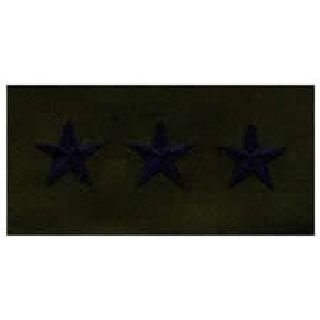 Pairs - Cloth Rank Insignia - Subdued - Lt General-
