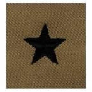 Pairs - Cloth Rank Insignia - Desert - Brig General-