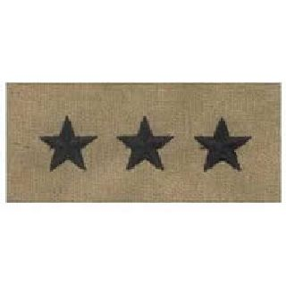 Pairs - Cloth Rank Insignia - Desert - Lt General-Hero's Pride