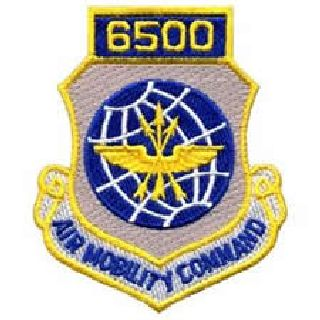 "6500 Air Mobility Command - w/Hook - 3 X 3-1/2""-"