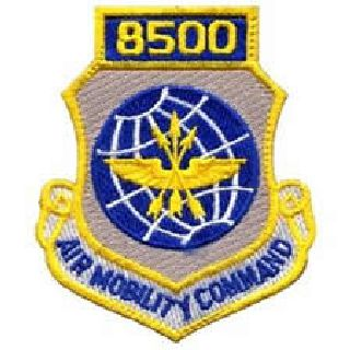 "8500 Air Mobility Command - w/Hook - 3 X 3-1/2""-Hero's Pride"