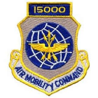 15,000 Air Mobility Command - w/Hook - 3 X 3-1/2-