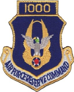 Air Force Reserve Command 1000 (Hook) -3 X 3-5/8-