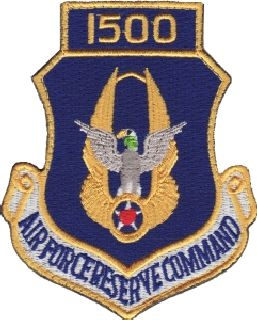 Air Force Reserve Command 1500 (Hook) -3 X 3-5/8-