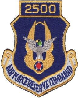 Air Force Reserve Command 2500 (Hook) -3 X 3-5/8-Hero's Pride