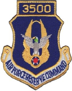 Air Force Reserve Command 3500 (Hook) -3 X 3-5/8-