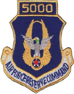 Air Force Reserve Command 5000 (Hook) -3 X 3-5/8-Hero's Pride