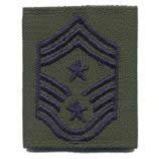 Each - Gortex Rank Insignia - Command Chief Msgt - Subdued-