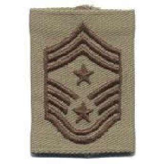 Each - Gortex Rank Insignia - Command Chief Msgt - Desert-