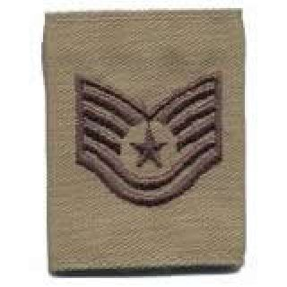 Each - Gortex Rank Insignia - Tsgt - Desert-Hero's Pride