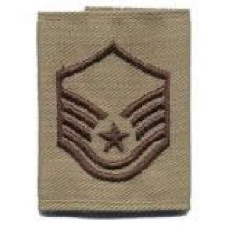 Each - Gortex Rank Insignia - Msgt - Desert-Hero's Pride