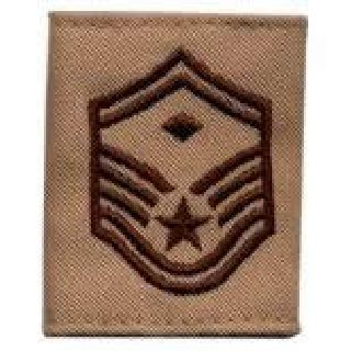 Each - Gortex Rank Insignia - Smsgt w/Diamond - Desert-
