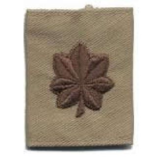 Each - Gortex Rank Insignia - Major - Desert-