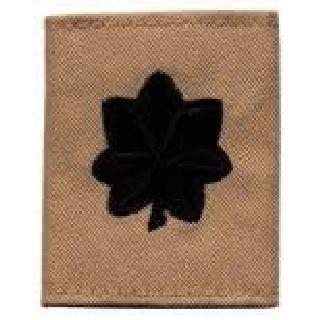 Each - Gortex Rank Insignia - Lt Col - Desert-