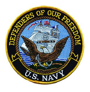 "Defenders Of Our Freedom - Navy - 12""Circle-"