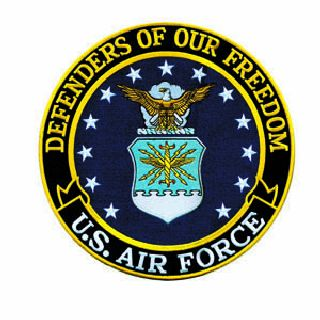"Defenders Of Our Freedom - Air Force - 12""Circle-Hero's Pride"