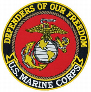 """Defenders Of Our Freedom - Marine Corps - 12""""Circle-"""