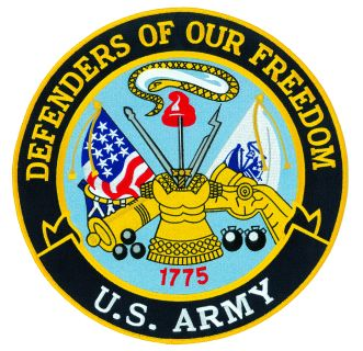 """Defenders Of Our Freedom - Army - 12""""Circle-Hero's Pride"""