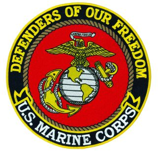 "8241-Defenders Of Our Freedom - Marine Corps - 12""Circle-"