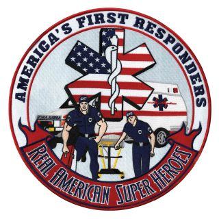 """America's First Responders - 12""""Circle-"""