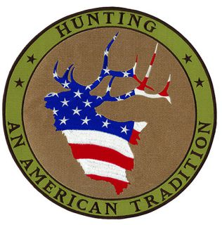 "Hunting An American Tradition - 12""Circle-"