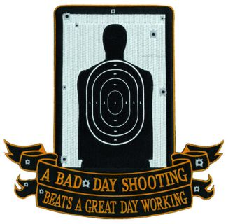 "A Bad Day Shooting - 11-3/4 X 11-1/4""-"