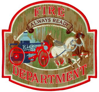 "Fire Department - Always Ready - 12 X 11-1/2""-"