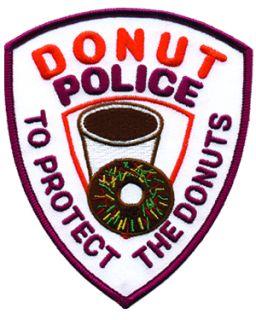 """Donut Police - 4 X 5""""-"""