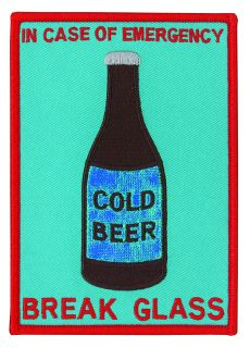 "In Case Of Emergency Break Glass - Beer - 3-1/2 X 5""-"