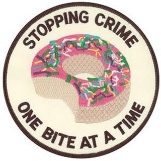 "Stopping Crime One Bite At A Time - 5""Circle-Hero's Pride"