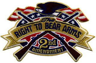"Right To Bear Arms - 5 X 3-1/4""-"