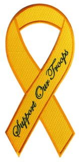 "Support Our Troops - Ribbon Only - 5""High-"
