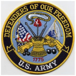 "Defenders Of Our Freedom - Army - 5""Circle-Hero's Pride"