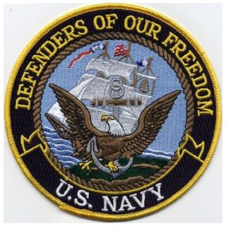 "Defenders Of Our Freedom - Navy - 5""Circle-"