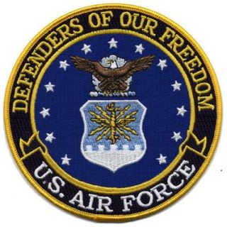 "Defenders Of Our Freedom - Air Force - 5""Circle-"
