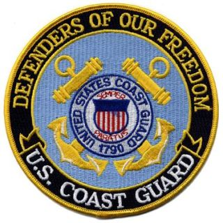 "Defenders Of Our Freedom - Coast Guard - 5""Circle-"