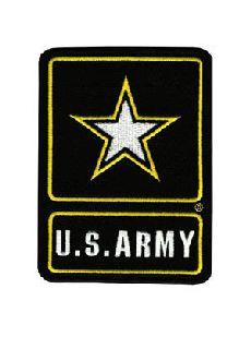 """U.S. Army (Star) - 3-5/8 X 5""""-"""