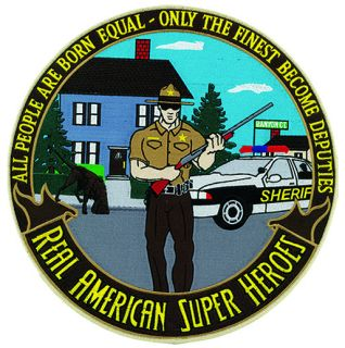 "Sheriff: American Super Heroes - 12""Circle-"