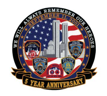 5 Years Anniversary - September 11, 2001 - 12 X 12-Hero's Pride