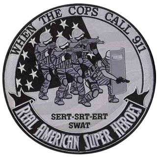 "Tactical: American Super Heroes - 12""Circle-"